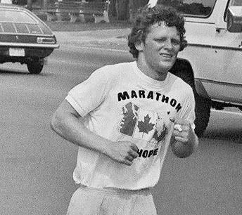 Terry Fox, che provò ad attraversare il Canada con una gamba sola