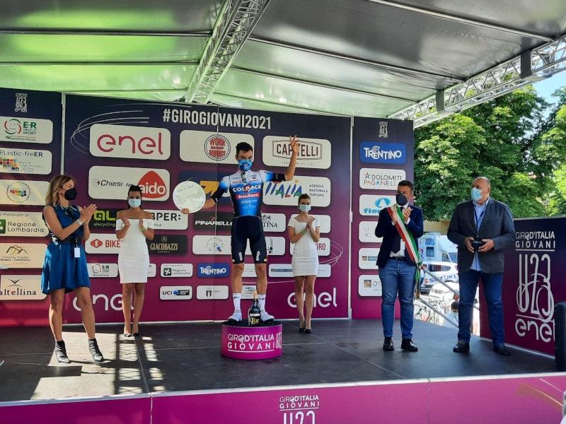 Giro d'Italia Under 23, a Imola trionfa lo spagnolo Juan Ayuso Pesquera