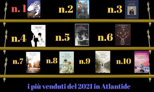 Libreria Atlantide, i più venduti del 2021