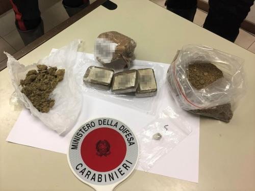 Un 44enne imolese non si ferma all'alt dei carabinieri, arrestato perché deteneva droga