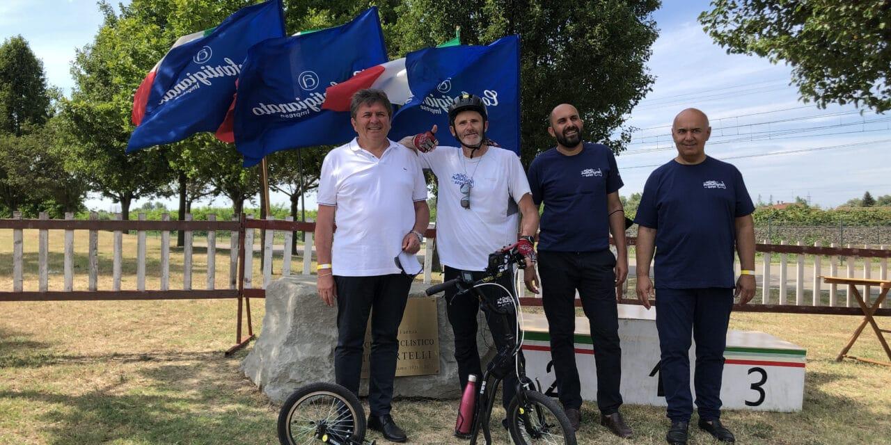 """MonoMarathon 2021"", i tre giorni in monopattino di Massimo Bacchi"