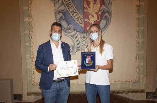 Basket, Panieri premia Federica Franceschelli che ha conquistato la serie A1 con Faenza