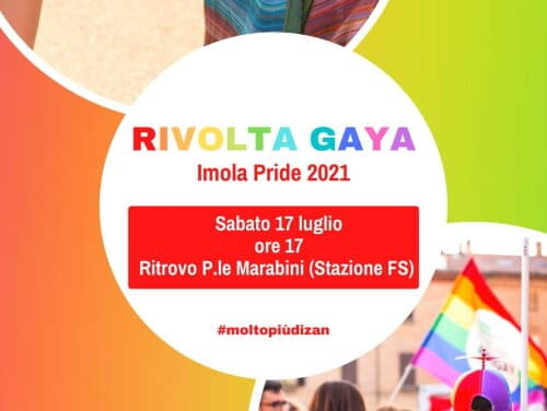 Rivolta Gaya in corteo per il centro contro la cultura sessista omo-bi-trans-fobica
