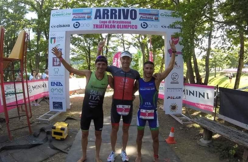 Triathlon Olimpico: Fabio Galassi ottimo terzo al Lago di Brasimone