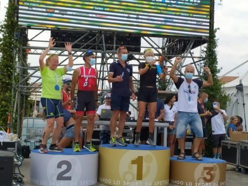 Duathlon sprint: Fiorenzo Rinaldi conquista il terzo posto in categoria M5