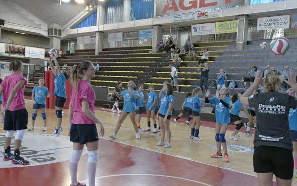 Imola, le stelle del volley femminile al torneo di Diffusione Sport