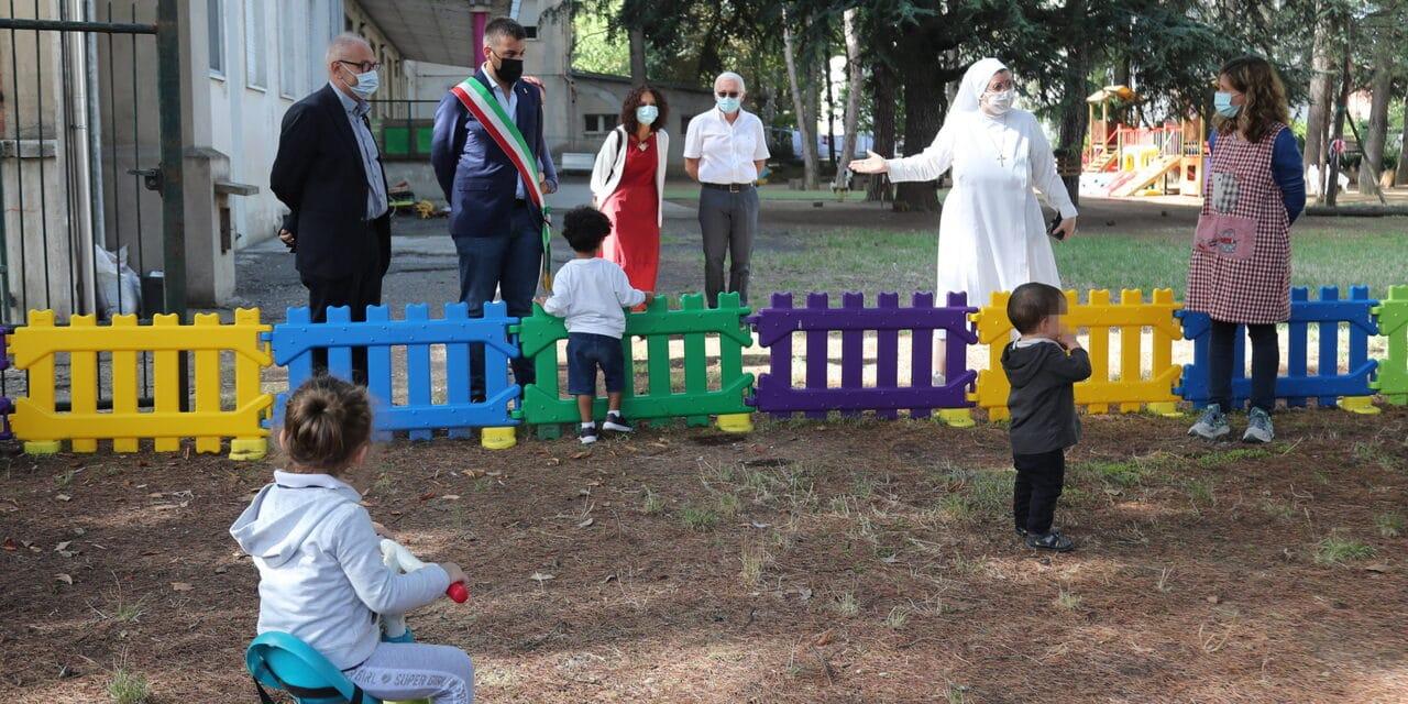 Primo giorno di scuola per nido e materna, oltre 1600 bambini in classe