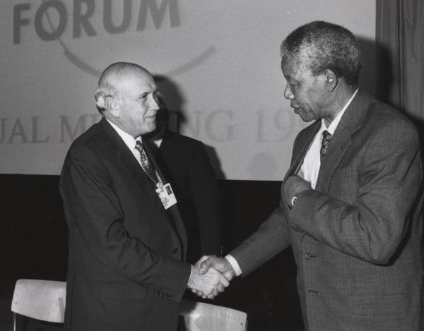 L'incontro al ristorante di Mandela con il suo carceriere