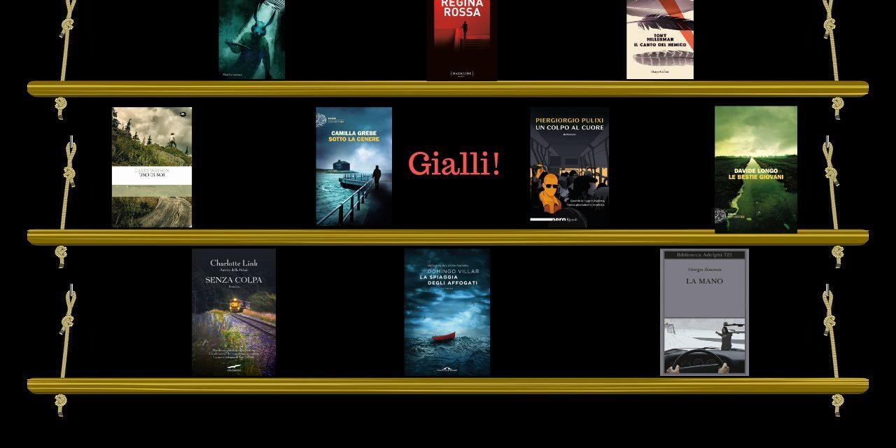 Estate in Giallo, i nuovi consigli della libreria Atlantide