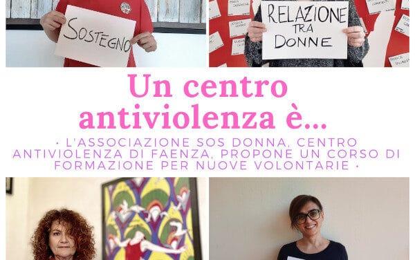 Sos Donna Faenza: un corso per formare le nuove volontarie