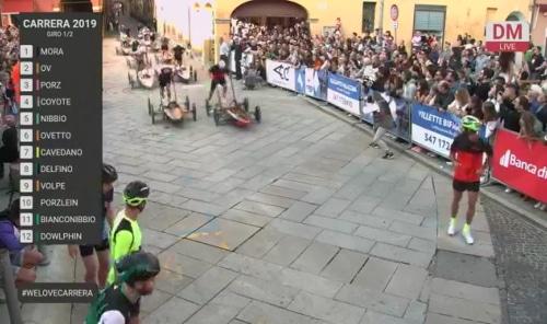 Carrera, le prove e le gare si potranno seguire anche in diretta streaming