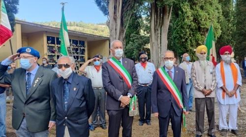 Il vicesindaco Castellari a Zattaglia per commemorare la Liberazione
