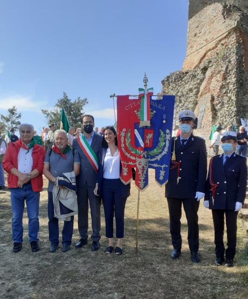 Monte Battaglia, cerimonia commemorativa dell'Anpi con la Schlein e Visani