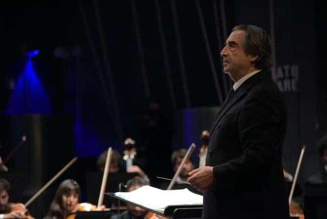 Il concerto di Riccardo Muti ha avuto grande successo anche sui social
