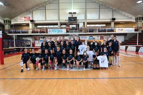 Volley, la Egonu e tante campionesse europee italiane si sfidano al palaRuggi