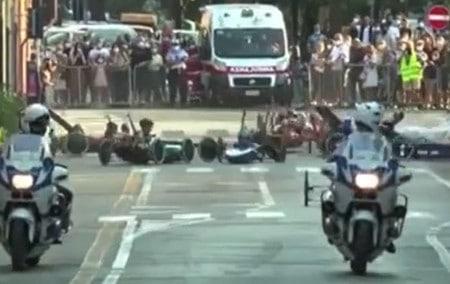 Carrera autopodistica: vince Ovetto, ma un incidente sconvolge l'ordine d'arrivo