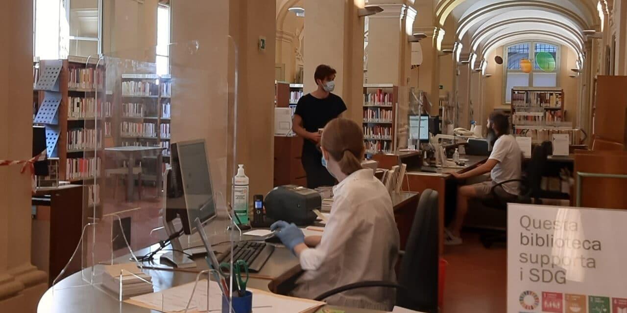 Dall'11 ottobre fruizione totale delle biblioteche con Green pass e mascherina