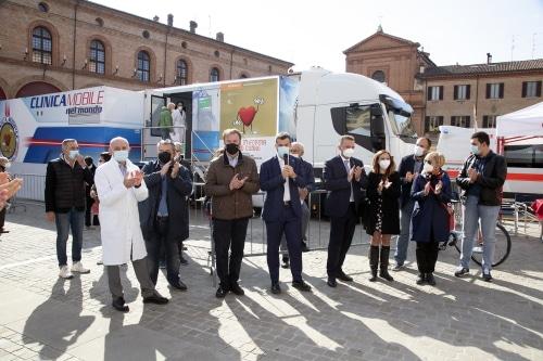 Una giornata dedicata alla prevenzione cardiovascolare in piazza Matteotti