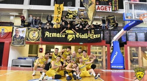 Basket serie C Gold: Diminic si impone subito e trascina la Virtus alla vittoria
