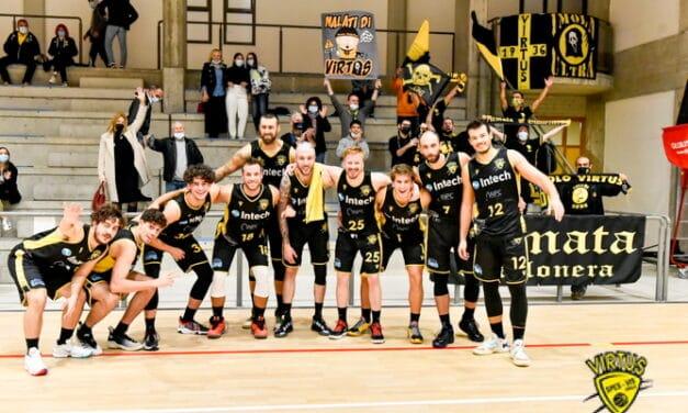 Basket serie C Gold: derby sulla via Emilia fra la Virtus e Castello